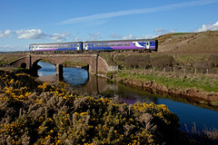Debranded (Richie B.) Tags: trains class cumbria northern 156 sellafield brel 2c38