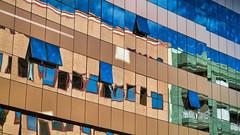 Reflets colors (...::: Antman :::...) Tags: city santacruz reflection architecture buildings reflet tenerife ville immeubles