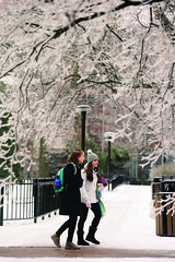 Snow (Vanderbilt University) Tags: winter usa snow campus student play unitedstates tn nashville sledding
