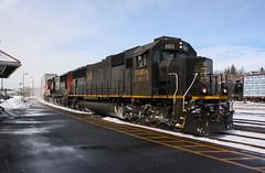 One Off (Joseph Bishop) Tags: railroad train ic track tracks rail railway trains rails railfan brantford 1011 emd sd70 cndundassubdivision
