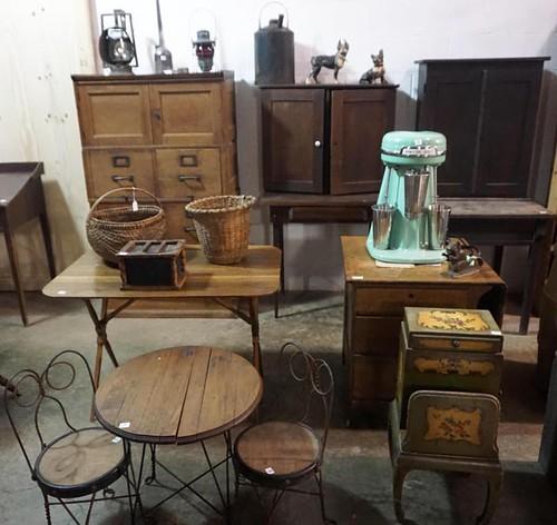 Oak Stack File Cabinet - $242.00