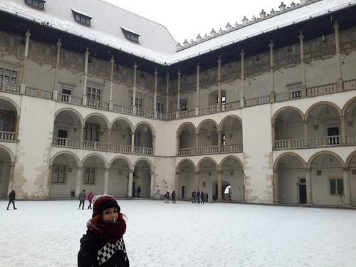 "Castillo de Wawel, Cracovia <a style=""margin-left:10px; font-size:0.8em;"" href=""http://www.flickr.com/photos/141744890@N04/26260520571/"" target=""_blank"">@flickr</a>"