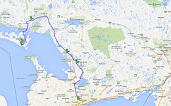 Route Map (whataride247) Tags: motorcycletouring