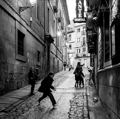 Street life (martina.stang) Tags: girls evening football mood streetphotography streetlife nostalgic