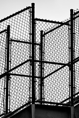 Lineamental (O.S. Fisher) Tags: lines silhouette canon fence photography utah photo shapes chain chainlink photograph link 5d barrier markiii shaunfisher canon5dmarkiii osfisher olivershaunfisher orthotope