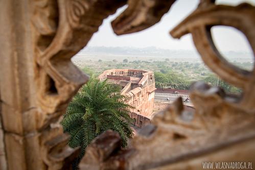 Widok z Czerwonego Fortu