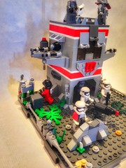 Lego Star Wars Moc: First Order Outpost in the Outer Rim (oli.jger) Tags: starwars lego empire stormtrooper base outpost moc firstorder phasma outerrim flametrooper