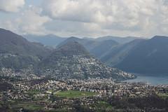 Lugano &  Monte Br (- Chiaramente Photography -) Tags: panorama lago switzerland tessin ticino bre panoramica di monte svizzera lugano ceresio cademario