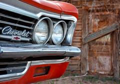 Chevrolet (Kevin.Donegan) Tags: door old light red arizona usa classic chevrolet car america route66 rustic roadtrip bumper seligman chev