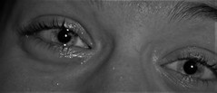 Her eyes (cristina.casari) Tags: blackandwhite bw eyes friend best her cry brescia italianeography 27042016