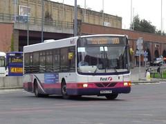 First 60379 - R624 CVR (North West Transport Photos) Tags: bus manchester volvo warrington first 100 wright renown b10 wrightbus firstmanchester b10ble volvob10ble wrightrenown r624cvr 60379