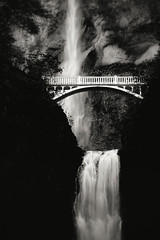 Down the river (Eduard Moldoveanu Photography) Tags: travel bridge vacation blackandwhite usa white black green tourism nature water beauty rock vertical stone oregon forest river portland landscape outdoors blackwhite waterfall pond stream day hiking or fineart scenic falls trail waterfalls oregoncoast tall flowing lush multnomah oregonstate columbiarivergorge us101 destinations scenicplaces