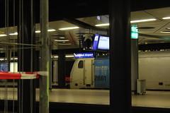 Schiphol Airport underground railway station (Davydutchy) Tags: holland netherlands station amsterdam train march airport gare capital hauptstadt nederland railway zug bahnhof schiphol paysbas trein niederlande 2016 hoofdstad