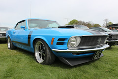 Ford Mustang Boss 302 (R.K.C. Photography) Tags: uk england classic car museum american 1970 fordmustang cambridgeshire musclecar airfield iwm boss302 canoneos100d muc89l duxfordspringcarshow2016
