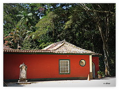 Floresta da Tijuca - casa  vermelha (o.dirce) Tags: riodejaneiro casa arvores vermelha floresta tijuca odirce