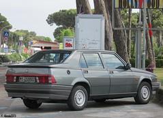 Alfa Romeo 75 1.8 IE (Alessio3373) Tags: alfaromeo alfaromeo75 alfa75 alfa7518ie alfaromeo7518ie 7518ie oldcars classiccars autoshite youngtimers transaxle worldcars