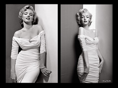 Marilyn vs Marilyn sculpture mannequin (Terry Minella) Tags: sculpture cinema celebrity mannequin marilyn vintage glamour doll marilynmonroe retro hollywood blonde monroe movies 50s tribute superstar lifesize diva schaufensterpuppe pinup figur puppe maniqui rootstein philippehalsman