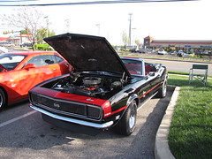 Sonic East Norriton Cruise 4/24/2016 (Speeder1) Tags: street cruise blue red orange black hot green classic ford 1955 car yellow vw pennsylvania muscle air 1940 beetle sonic camaro east pa chevy rod pontiac mopar mustang corvette bel 1973 maverick norriton