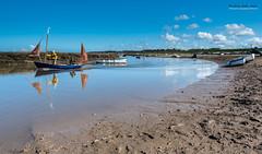 Sailing out of Morston (jerry_lake) Tags: norfolk d750 sailingboat morston aril2016