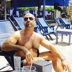 IMG_0869 (danimaniacs) Tags: shirtless man sexy guy beard mexico muscle muscular hunk puertovallarta stud scruff bodyhair