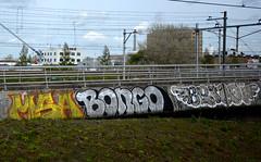 graffiti amsterdam (wojofoto) Tags: holland graffiti benoit bongo nederland netherland spoor trackside wolfgangjosten wojofoto