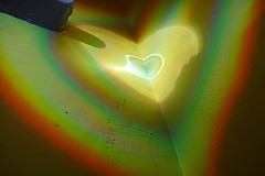 (Jean-Luc Lopoldi) Tags: soleil coin lumire couleurs cd mur reflets spectre abstrait