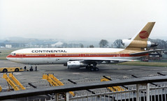 N14062. Continental Airlines Douglas DC-10-30. (isdc1316) Tags: november 1987 aviation scanned airliners prestwick pik continentalairlines egpk douglasdc1030 n14062