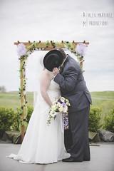 Hidden Kiss (AM Productions LLC) Tags: wedding light cute hat wisconsin diy claire am kiss eau natural productions pinterest