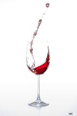 Weinglass #2 (pixel-sallo) Tags: red rot glass wine splash liquid glas wein flssig
