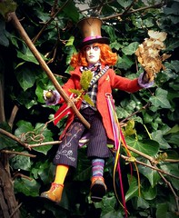 You can't help that, we're all mad here... (dolldudemeow24) Tags: glass doll looking alice through mad wonderland hatter the in 2016