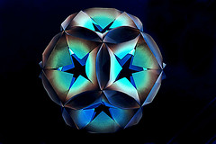 Star Orb (Miyuki Kawamura) (De Rode Olifant) Tags: face paper 3d origami modular paperfolding diagrams tanteidan miyukikawamura starorb marjansmeijsters tanteidan19thconvention