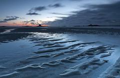 Darkland (Traezh) Tags: blue beach reflections dark landscape dawn sand brittany sable bretagne breizh bleu sombre bluehour paysage plage reflets aube darkland keremma trflez