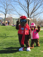 Hello (jamica1) Tags: park canada bc ben okanagan columbia lee british kelowna rutland mascots bigwhite