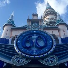 Sleeping Beauty Castle (Lennox / Sissel) Tags: castle clouds disneyland anaheim 60th sleepingbeautycastle