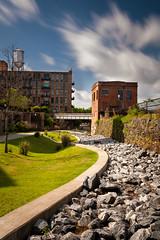 Columbus GA, Riverwalk (Igor Grigorjev) Tags: city columbus usa color art 30 town rocks long exposure downtown sigma nd riverwalk