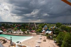 An Approaching Storm (Midgetman82) Tags: kentucky amusementpark louisville rollercoaster rmc stormchaser kentuckykingdom rockymountainconstruction