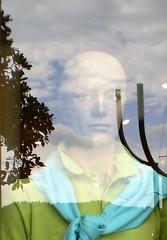 wistful (Mr Ian Lamb) Tags: italy reflection window reflections manikin salo lakegarda shopdummy wistfullook