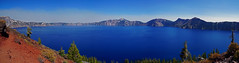20150913_106pa (mckenn39) Tags: panorama mountain lake nature water landscape nationalpark or cascaderange craterlakenationalpark