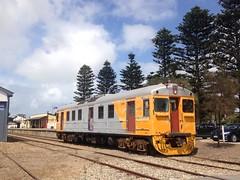 Primed Red Hen (highplains68) Tags: railcar sa southaustralia goolwa redhen steamranger finnissflyer