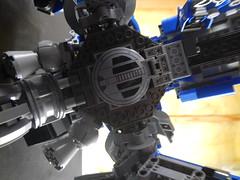 Underside maintenance hatch closed (donuts_ftw) Tags: lego space luna mecha mech metalgear metalgearrex metalgearluna