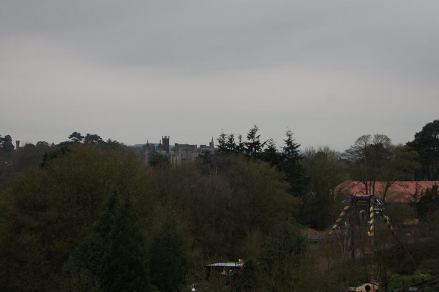 View of The Towers and The Blade from the top of Air's lift hill