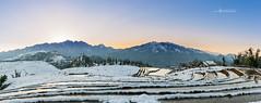 Sapa in snow (Le Hong Ha) Tags: travel sunset red house snow landscape nikon vietnam sapa