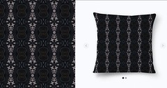 abstrata (giselealvesrocha) Tags: urban abstract decoration surfacedesign pillow decor homedecor almofada tulipe photopillow textiledesign blackcolor estamparia surfacepattern blackpillow photopattern photograficpattern