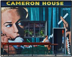 Cameron House ~ Queen West, Toronto (Sally E J Hunter) Tags: summer woman toronto sign bar mural patio tavern storefront queenwest queenstreetwest cameronhouse summertoronto