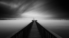 The Dock of the Bay (josesuro) Tags: longexposure bw digital stpetersburg landscapes florida fineart 2015 bocaciegabay floridawestcoast afsnikkor1835mmf3545ged jaspcphotography nikond750