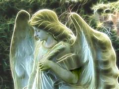 Guardian Angel (Jane.Des) Tags: angel gravestone fractalius