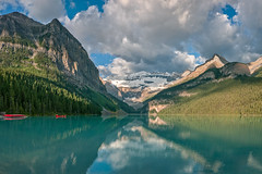 Panorama, (L to R) Mounts Fairview, Victoria, Whyte Niblock, the Big Beehive & Lake Louise, Banff National Park, Alberta (Cwep) Tags: panorama canada location alberta lakelouise banffnationalpark mountvictoria aspect 2011 bigbeehive mountfairview mountwhyte mountniblock