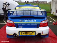 WRC (BenGPhotos) Tags: 2005 blue b winter sports car sarah wales honda rally north group stages jade wrc subaru hatch edwards impreza wrx sti brands motorsport autosport rallying 2016 paveley bn55uat