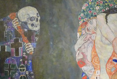 Klimt, Death and Life (detail)