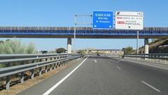 A-66-23 (European Roads) Tags: de la sevilla andaluca spain plata andalusia alto venta santiponce autova a66 gerena algaba